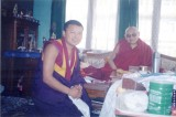 With H.H.Trulshik Rinpoche