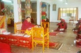 Leading the exams at Taktse Institute