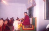 During the class at Taktse Institute